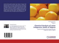 Capa do livro de Chemical Analysis of some indigenous Seeds of Nigeria