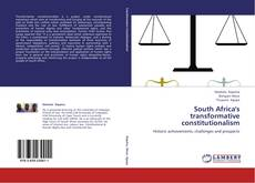 Bookcover of South Africa's transformative constitutionalism