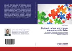 Bookcover of National culture and change management in Qatar