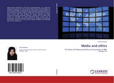 Buchcover von Media and ethics
