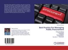 Best Practice For Managing Public Procurement kitap kapağı
