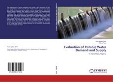 Buchcover von Evaluation of Potable Water Demand and Supply