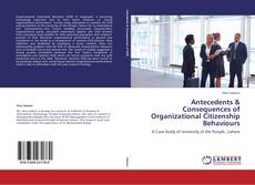 Capa do livro de Antecedents & Consequences of Organizational Citizenship Behaviours