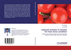 Bookcover of Induced variation in tomato for heat stress condition