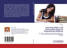 Capa do livro de Learning Styles and Personality Types of Engineering Students