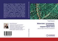 Bookcover of Шантаж: уголовно-правовая характеристика