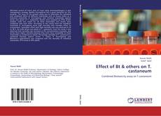 Bookcover of Effect of Bt & others on T. castaneum