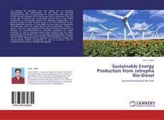 Обложка Sustainable Energy Production from Jatropha Bio-Diesel