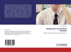 Bullying in secondary schools kitap kapağı