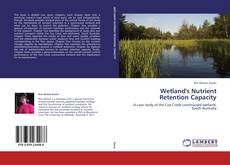 Bookcover of Wetland's Nutrient Retention Capacity
