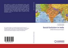 Bookcover of Social Exclusion in India