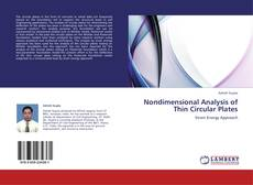 Couverture de Nondimensional Analysis of Thin Circular Plates