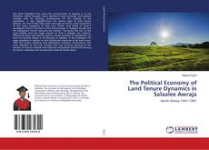 Bookcover of The Political Economy of Land Tenure Dynamics in Salaalee Awraja
