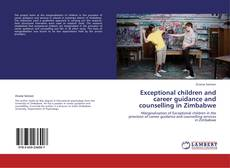 Couverture de Exceptional children and career guidance and counselling in Zimbabwe