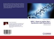 Capa do livro de MSX 1 Gene in Indian Non -Syndromic cleft Population