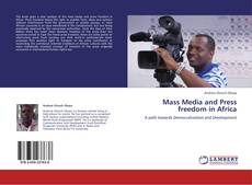 Обложка Mass Media and Press freedom in Africa