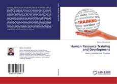 Bookcover of Human Resource Training and Development