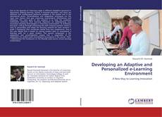 Capa do livro de Developing an Adaptive and Personalized e-Learning Environment