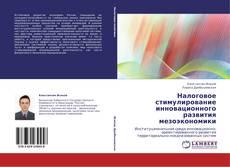 Portada del libro de Налоговое стимулирование инновационного развития мезоэкономики