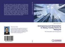 Bookcover of Entrepreneurial Orientation in Malay Family Firms in Malaysia
