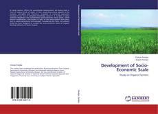 Bookcover of Development of Socio-Economic Scale