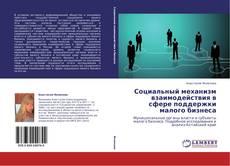 Bookcover of Социальный механизм взаимодействия в сфере поддержки малого бизнеса