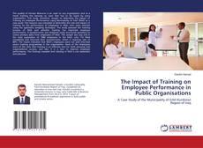 The Impact of Training on Employee Performance in Public Organisations kitap kapağı