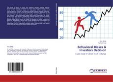 Bookcover of Behavioral Biases & Investors Decision