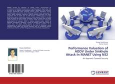 Capa do livro de Performance Valuation of AODV Under Sinkhole Attack In MANET Using NS2