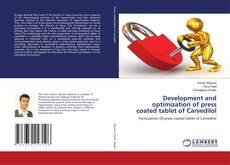 Capa do livro de Development and optimization of press coated tablet of Carvedilol