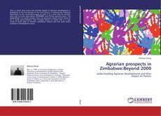 Borítókép a  Agrarian prospects in Zimbabwe:Beyond 2000 - hoz