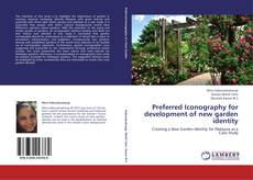 Bookcover of Preferred Iconography for development of new garden identity