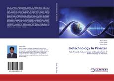 Capa do livro de Biotechnology In Pakistan