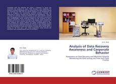 Buchcover von Analysis of Data Recovery Awareness and Corporate Behavior
