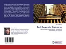 Couverture de Bank Corporate Governance