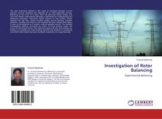 Bookcover of Investigation of Rotor Balancing
