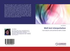 Bookcover of Well test interpertation