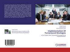 Copertina di Implementation Of Turnaround Strategies