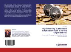 Buchcover von Implementing Sustainable Financial Policies in Public Organizations