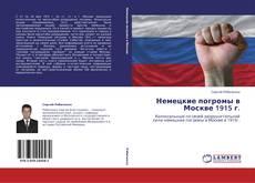 Bookcover of Немецкие погромы в Москве 1915 г.
