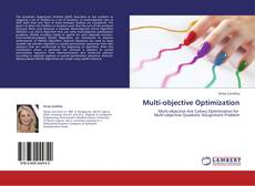 Bookcover of Multi-objective Optimization