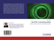 Bookcover of The ECB´s monetary policy