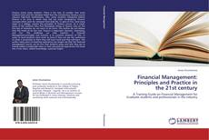 Capa do livro de Financial Management: Principles and Practice in the 21st century