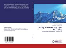 Capa do livro de Quality of marital life: Level of Coping