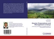 Buchcover von Disaster Preparedness and Management in Kenya