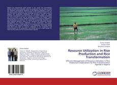 Bookcover of Resource Utilization in Rice Production and Rice Transformation