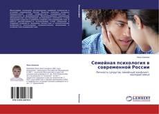 Обложка Семейная психология в современной России