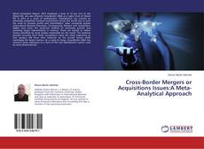 Bookcover of Cross-Border Mergers or Acquisitions Issues:A Meta-Analytical Approach
