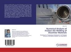 Bookcover of Numerical Analysis of Friction Stir Welding of Dissimilar Materials