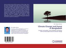 Capa do livro de Climate Change and Forest in Bangladesh